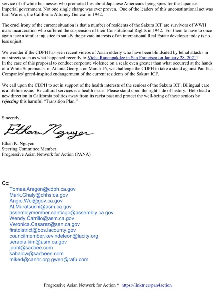 PANA 1st Letter to CDPH 2of2