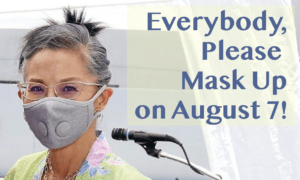 Mask Up August 7