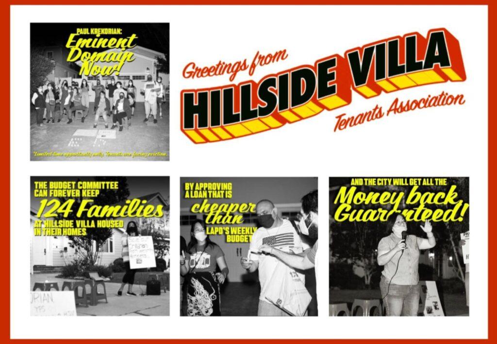 Greetings from Hillside Villa